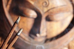 Incense is a form of honor and worship in Buddhism and other religions