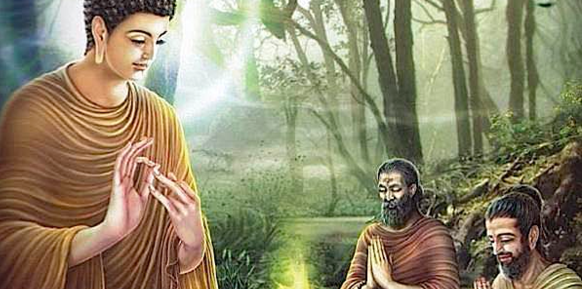 Shakyamuni Buddha Teaches the Eightfold Path