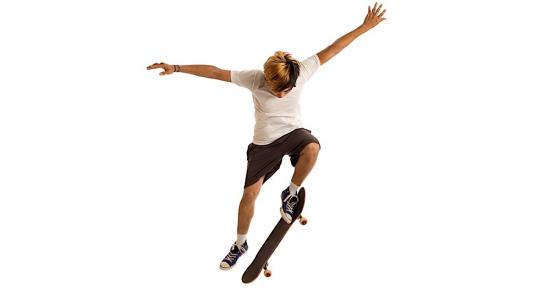 Skateboarding for Enlightenment Buddha Weekly
