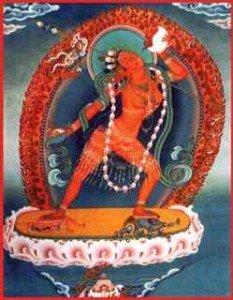 Empowerment often involves deity meditation or practice.