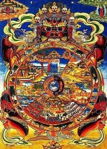 Buddha Weekly 0wheel of life suffering karma liberation Buddhism Misery four truthcs Buddha