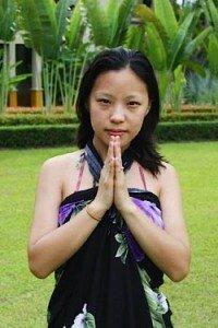 Buddha Weekly 0Namaste bowing low