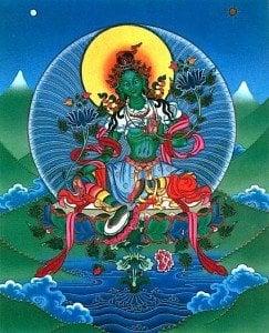 Buddha Weekly 0green tara 02