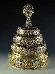 Buddha Weekly 1T mandala semi precious stones set