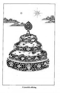 Buddha Weekly 2T mandala set with jewels