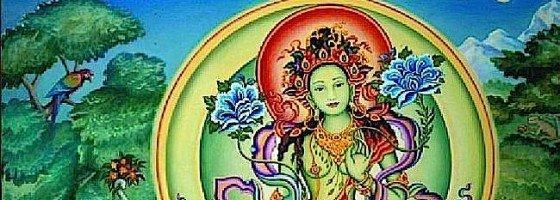 Buddha Weekly Green Tara Horizontal Buddhism