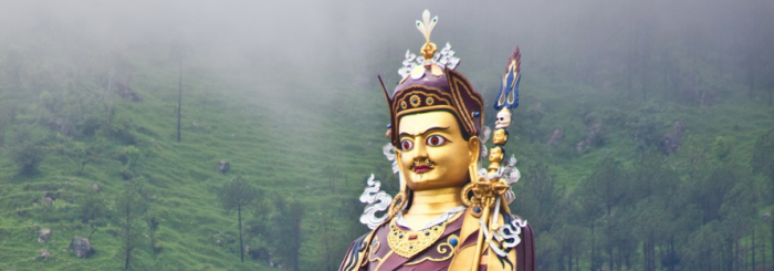 When you recognize the nature of mind, fabrication and effort are naturally freed — Guru Rinpoche. Happy Guru Rinpoche Day!