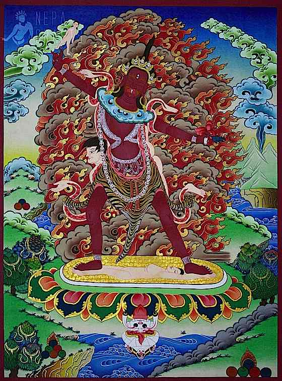 Tantric Wrathful Deities: The Psychology and Extraordinary