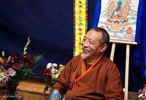 Archaya Zasep Tulku Rinpoche at Gaden Choling Mahayana Buddhist Meditation Centre