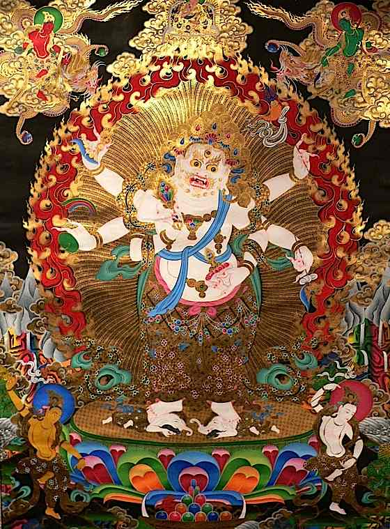 Wealth deity White Mahakala