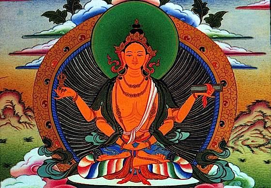 The very embodiment of emptiness — Prajnaparamita.