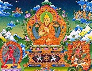 Buddha Weekly 0Tsongkhapa and Vajrayogini