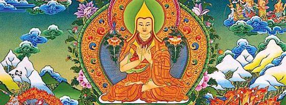 Buddha Weekly tsongkhapa tangkha Buddhism