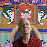 Buddha Weekly 0Bhikshuni Thubten Chodon Teaching Tara Retreat