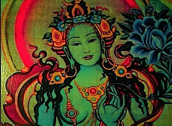 Buddha-Weekly-Green-Tara-Closeup-Buddha-Deity-Meditational-Buddhism