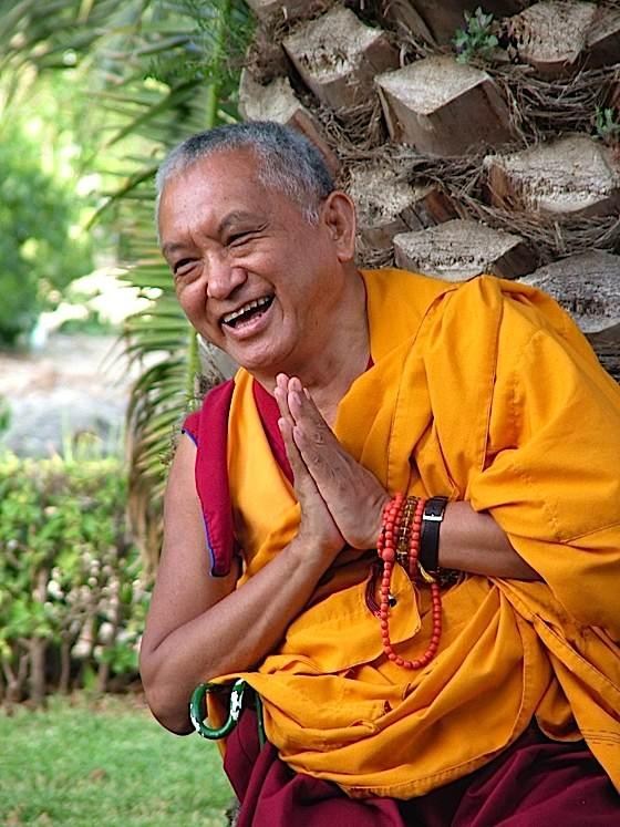 The great Kyabje Lama Zopa Rinpoche.