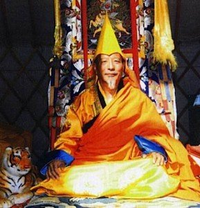 Venerable Zasep Tulku Rinpoche is spiritual head of Gaden for the West.