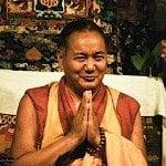The much revered Guru Lama Yeshe. The second st