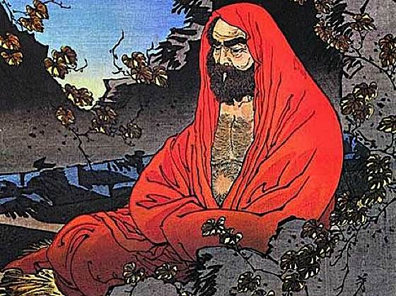 Bodhidharma, the great Chan sage.