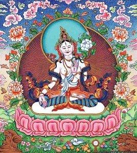 Buddha Weekly white tara Buddhism