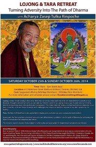 Buddha Weekly Oct.2014.Retreat Poster Version 2 Buddhism