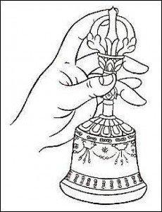 Buddha Weekly bell hand position Buddhism