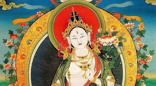 Buddha Weekly Horizontal White Tara Buddhism