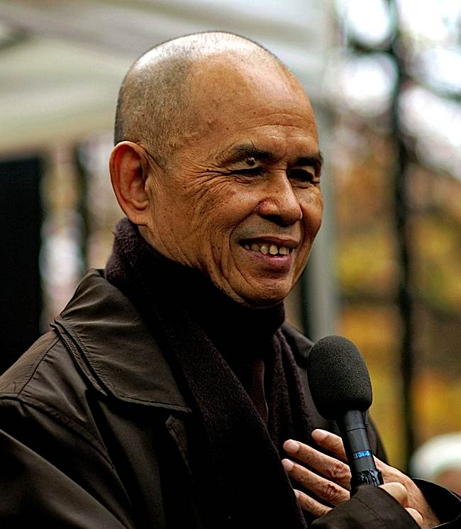 Great Zen Teacher Thich Nhat Hanh, known around the world as a peace activist, was admitted to hospital due to brain hemorrhaging. Buddhists around the world send him healing wishes.