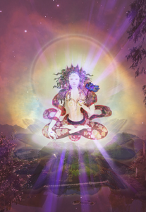 "White Tara ""body"" is visualized as being the nature light."