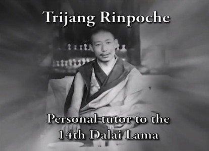 Buddha Weekly Tijang Rinpoche Zasep Tulku Teacher Dalai Lama Tutor Buddhism