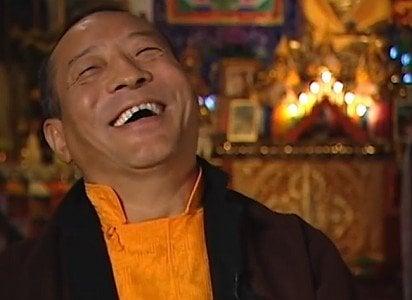 Buddha Weekly Zasep Laughing heartily Zasep Tulku Buddhism