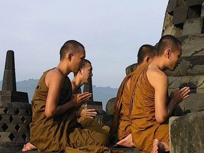 Buddha Weekly Borobudur monks Buddhism
