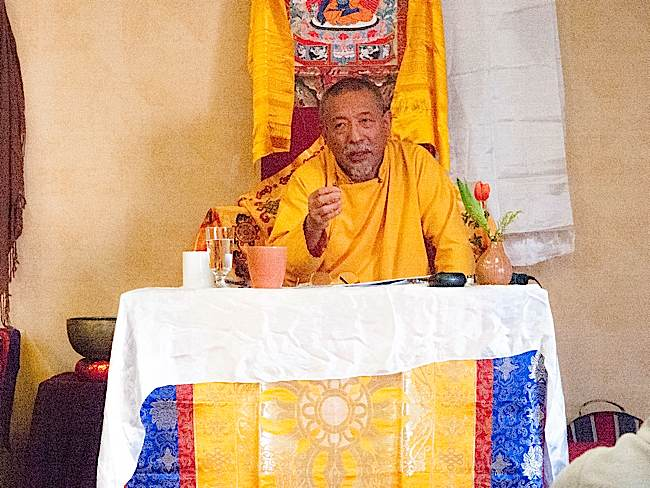 A recent teaching from Zasep Tulku Rinpoche on Mindfulness of Feelings.