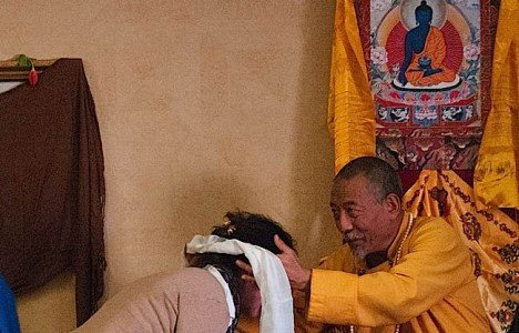 Buddha Weekly Feelings session mahamudra Zasep Rinpoche with Student Buddhism