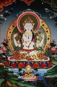 Buddha Weekly Four Arm Avalokitesvara Buddhism