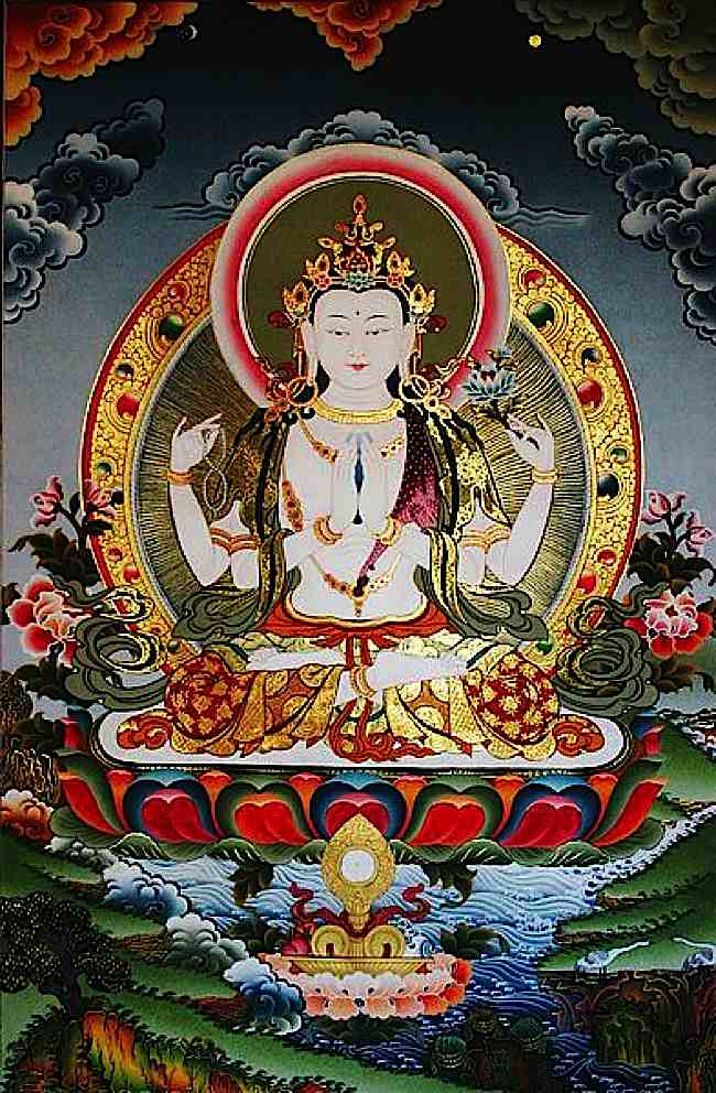 Avalokitesvara Compassion Practices Can Quot Enhance Treatment