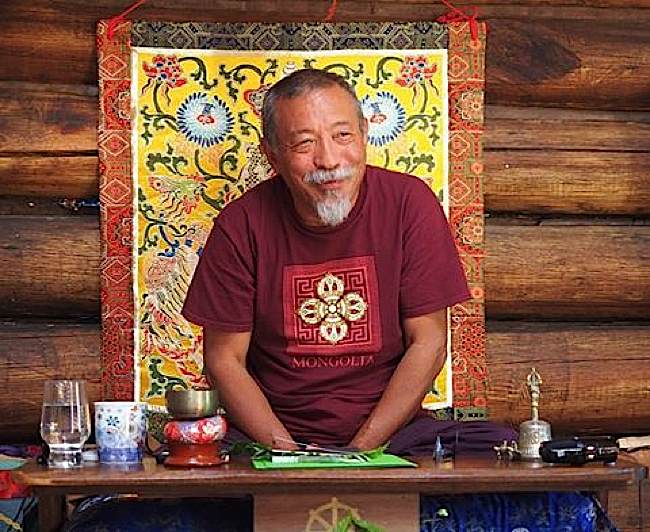 Buddha-Weekly-Rinpoche in rustic environment-Buddhism