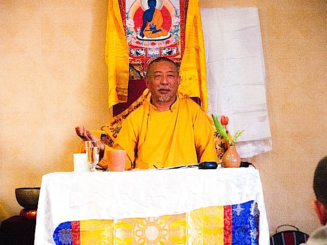 Zasep Tulku Rinpoche is a highly realized teacher, spiritual head of several Buddhist centres in North America and Australia.