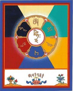 Buddha Weekly om mani padme hum mandala ies walker Buddhism