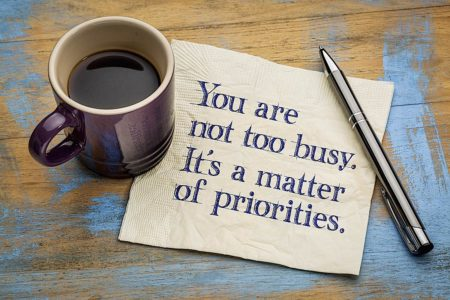 Buddha Weekly Youre not too busy its a matter of priorities Buddhism