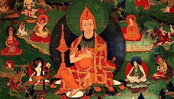 Buddha Weekly Atisha with 84 mahasiddha Buddhism