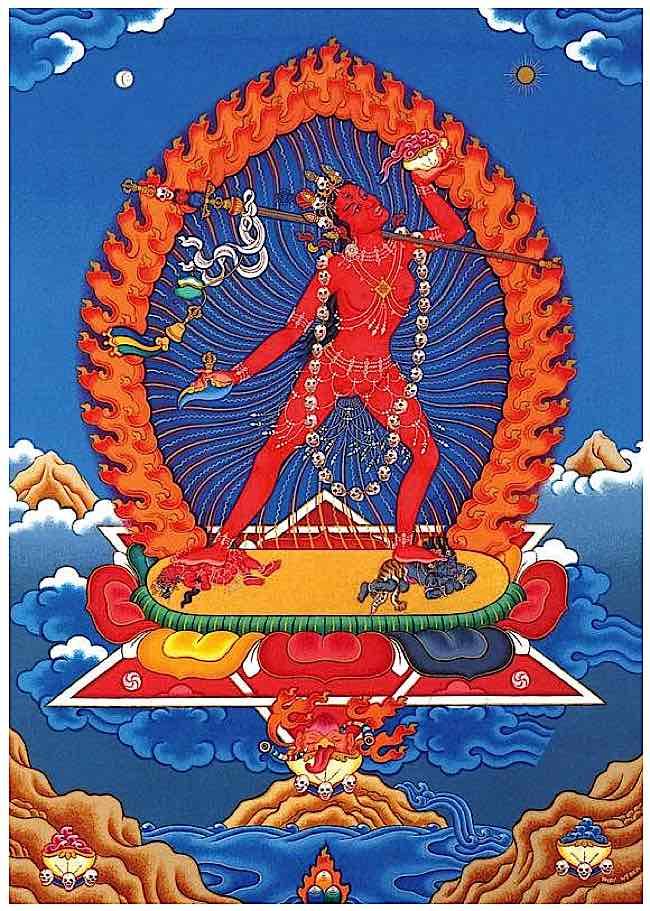 Vajrayogini practice is a Highest Yoga Tantra practice.