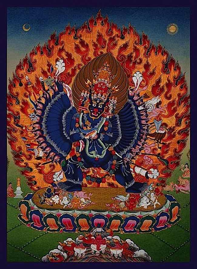 Buddha-Weekly-Yamantaka Tangkha-Buddhism