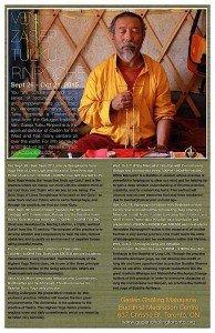 Buddha Weekly Zasep Rinpoche Gaden Choling Toronto Sept Oct 2015 Buddhism