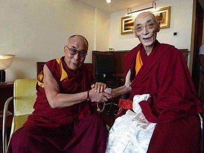 Buddha-Weekly-choden-rinpoche-with Dalai Lama-Buddhism