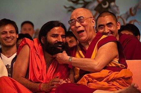 Buddha Weekly dalai lama laughing Buddhism