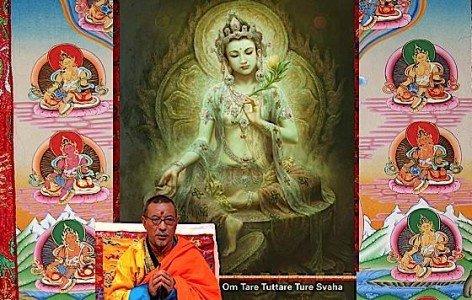 Buddha Weekly green Tara Savior medBuddhism