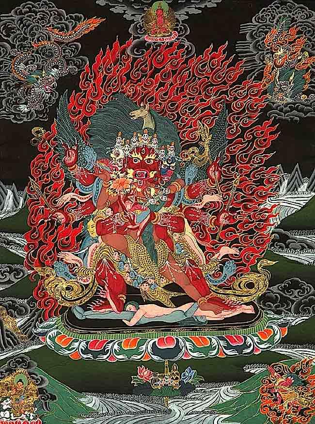 Buddha Weekly hayagriva yab yum Buddhism