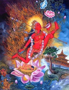 Vajrayogini practice is a highest yoga tantra practice, suitable for advanced practitioners.