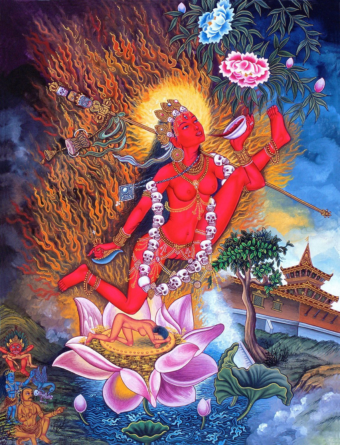 Vajrayogini Practice Is A Highest Yoga Tantra Practice Suitable For Advanced Practitioners